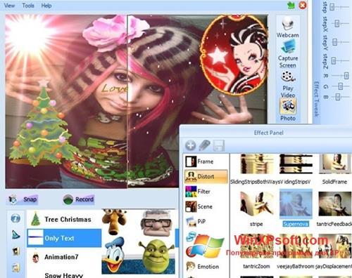 Скриншот программы Photo Booth для Windows XP