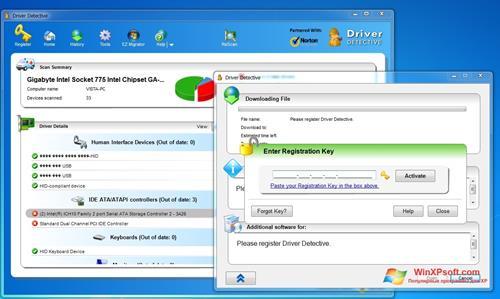 Скриншот программы Driver Detective для Windows XP