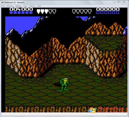 Скриншот программы Nestopia для Windows XP