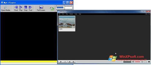 Скриншот программы MP4 Player для Windows XP