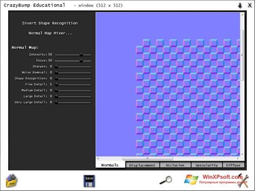 Скриншот программы CrazyBump для Windows XP