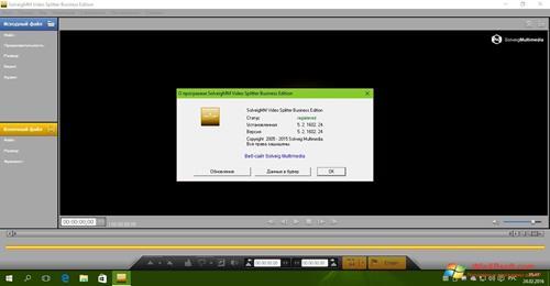 Скриншот программы SolveigMM Video Splitter для Windows XP