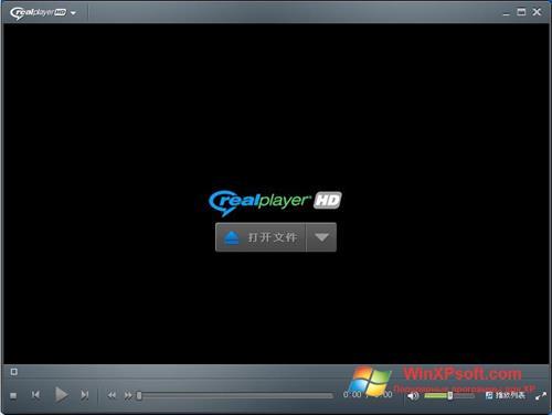 Скриншот программы RealPlayer для Windows XP