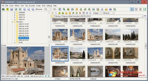 Скриншот программы Faststone Image Viewer для Windows XP