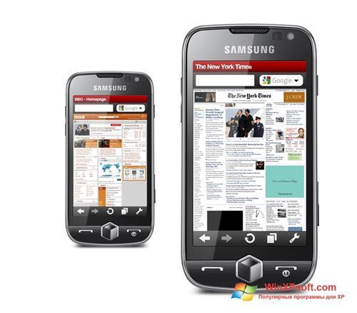 Скриншот программы Opera Mobile для Windows XP