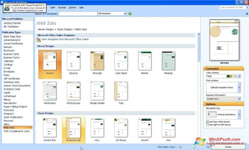 microsoft publisher for xp