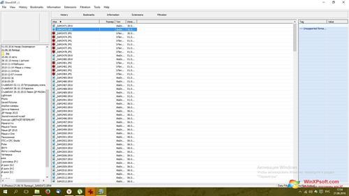 Скриншот программы ShowExif для Windows XP