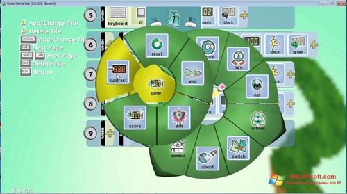 Скриншот программы Kodu Game Lab для Windows XP