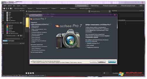 Скриншот программы ACDSee Pro для Windows XP