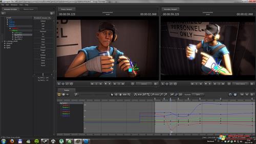 Скриншот программы Source Filmmaker для Windows XP