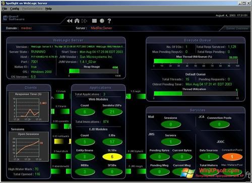 Скриншот программы Spotlight для Windows XP