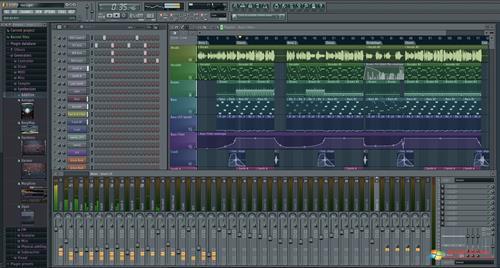Скриншот программы FL Studio для Windows XP