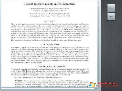 Скриншот программы Doc Viewer для Windows XP