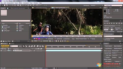 Скриншот программы Adobe After Effects CC для Windows XP