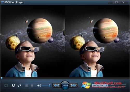 Скриншот программы 3D Video Player для Windows XP