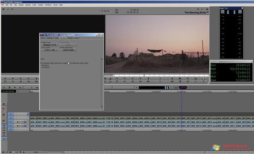 Скриншот программы Avid Media Composer для Windows XP