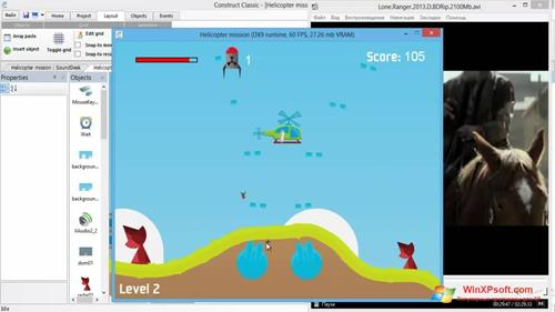Скриншот программы Construct Classic для Windows XP