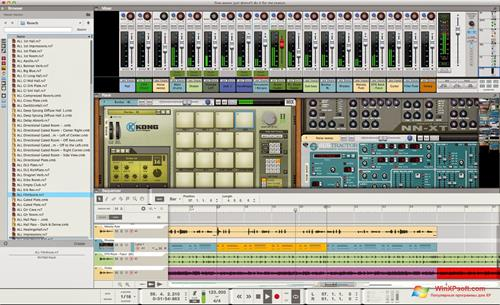 Скриншот программы Reason для Windows XP